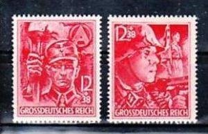 D.-Reich  Nr. 909-10**  (y6101   ) siehe scan !