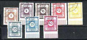 Sowjet Zone Nr. 42-50  G  ohne Nr.43    o  ( y6627  ) siehe scan !