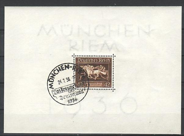 D.-Reich  Block  4  Sonder-o    ( zz 2996  ) siehe scan !!