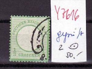 D.-Reich  Nr. 2   o   (y7616 ) siehe scan  !