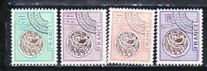 Frankreich Nr. 1972-5    **    ( e 8125  ) siehe scan   !
