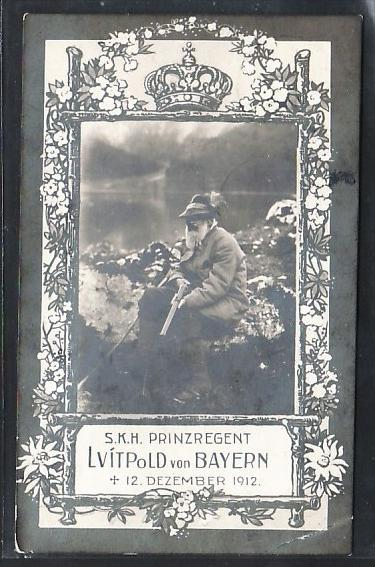 Prinzregent Luitpold v.Bayern     -alte Karte  (da 2616  ) siehe scan !