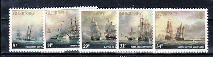 UK-Guernsey Nr.  352-8   ** /MNH (e8715 ) siehe scan !