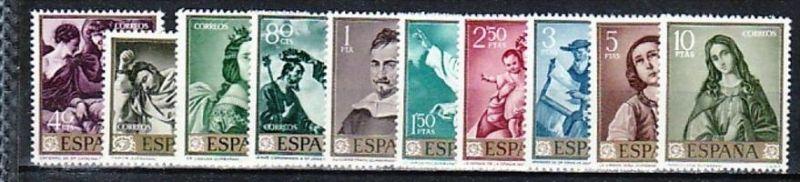 Spanien Nr.  1304-13    **  ( e8548 ) siehe scan  !