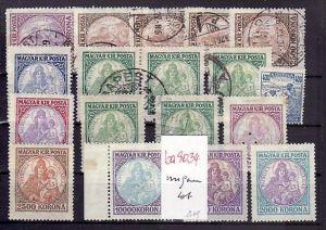 Alt-Ungarn   -  Lot -aus altem Händlerbestand  (ba9034 ) siehe scan !