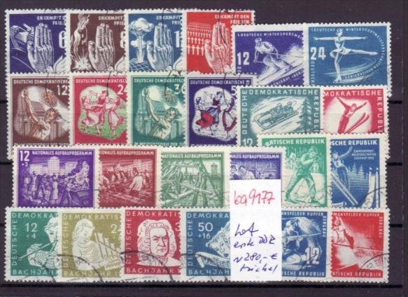 DDR  erste Jahre Lot   Lot   ~280,-Michel  ( ba 9177 )  siehe scan  !