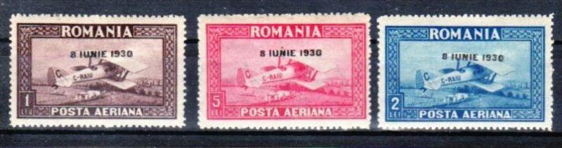 Rumänien Nr. 372-4 Y    *  (y8485  ) siehe scan !