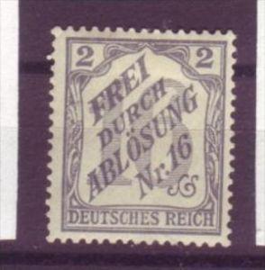 D.-Reich Nr. Dienst  9   *    (y8522 )  siehe scan