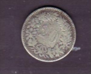 Schweiz  20 Rappen  1850  selten   (x1498 )  siehe scan