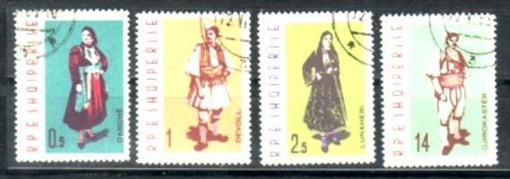 Albanien  Nr.  695-8  o   (e8814 ) siehe scan  !!