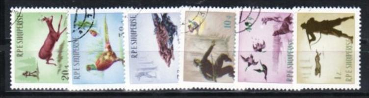 Albanien  Nr.  932-7   o   (e8817 ) siehe scan  !!