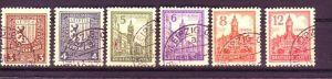 SBZ  Nr. 156-61 Y  gelbliches Papier   (p3439 ) siehe scan vergrößert  !!
