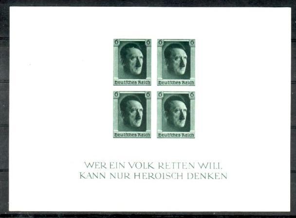 D.-Reich Block   8    **   (p3453  ) siehe scan  !