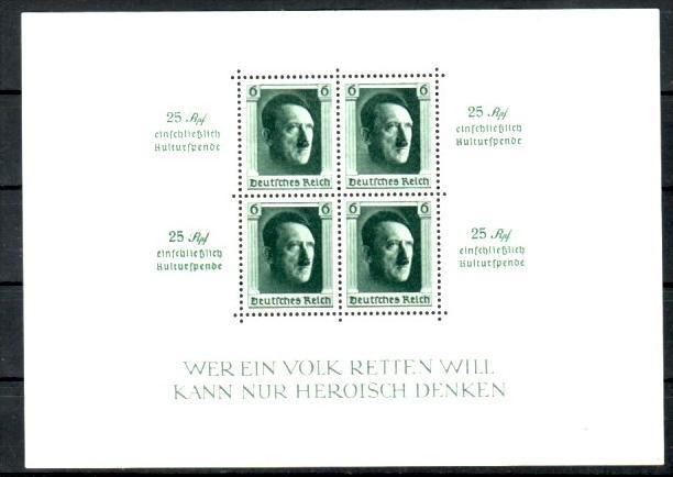 D.-Reich Block   9    **   (p3454  ) siehe scan  !