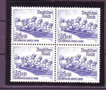 D.-Reich  Nr.  4x 602    **    ( y9039 )  siehe scan  !