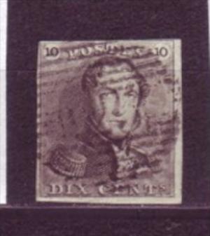 Belgien   Nr.  1 o    ( y 9000   )  siehe scan  !