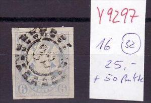Bayern  Nr. 16   Stempel   32    ( y9297   )  siehe scan   !