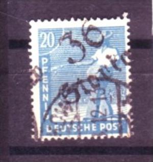 Sowjet-Zone  Nr. 173 VII  o  ( y9617 ) siehe scan  !