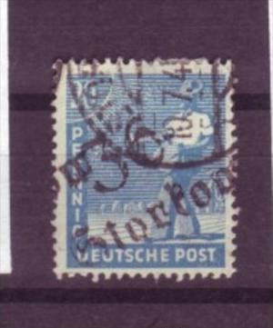 Sowjet-Zone  Nr. 173 VII  o  ( y9618 ) siehe scan  !