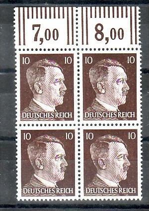 D.Reich  Nr. 4x 826b   **    ( f 7034   ) siehe scan  !