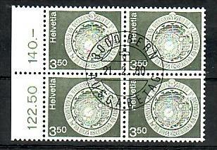 Schweiz   - 4er Block 1169   -Versandstellenstempel    (zz4146  ) siehe Bild !