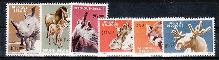 Belgien  Nr. 1242-7   **   (e9005 ) siehe scan