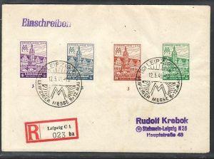 SBZ  R.-Brief   Messe Leipzig   (zz4362 ) siehe scan