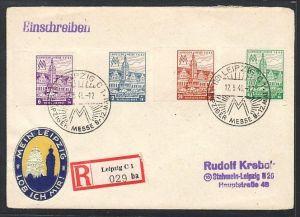 SBZ  R.-Brief   Messe Leipzig   (zz4363 ) siehe scan