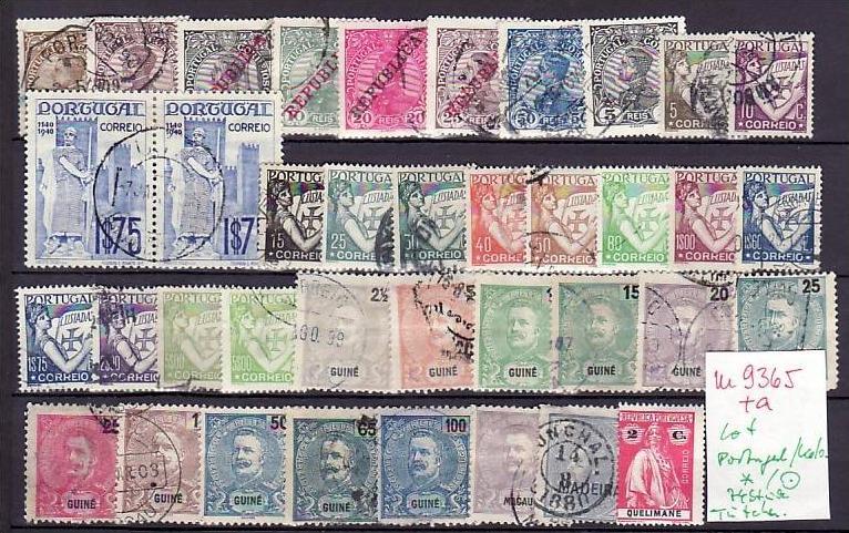Chemnitzer Lot -Portugal-Kolonien ?? 74 Stück ( m9365 ) siehe scan