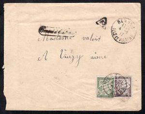 Frankreich Brief -Nachporto  -Bedarf ( bc430  )  siehe scan  !