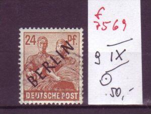 Berlin Nr.  9 IX   o (f7569  ) siehe scan  !
