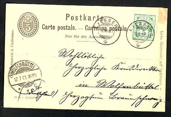 Schweiz  alte Ganzsache   (bc507 ) siehe scan
