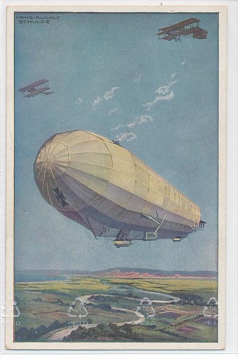 alte Karte Zeppelin -ungebraucht   (bc1142 ) siehe scan  !