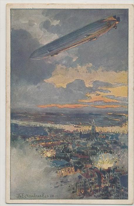 alte Karte Zeppelin -ungebraucht   (bc1141 ) siehe scan  !