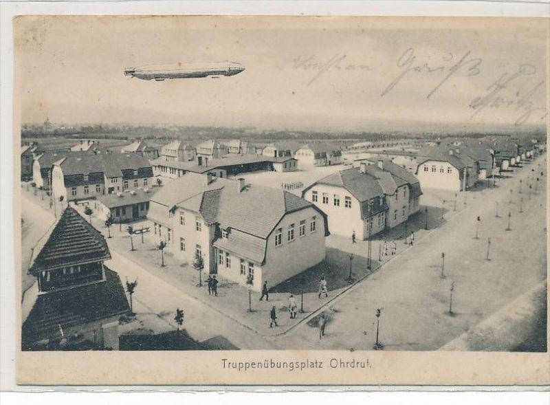 alte Karte  - Zeppelin  (bc1124 ) siehe scan !