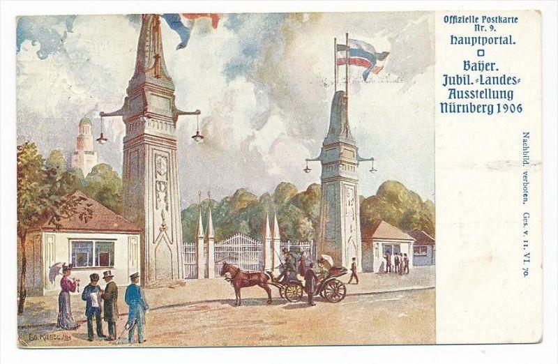Bayern  Ganzsache -Gewerbeausstellung 1906  o    ( bc1110  )  siehe scan !