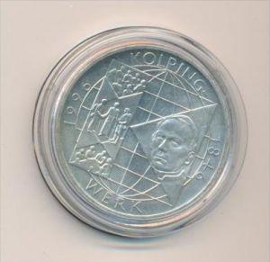 BRD  10,-D.-Mark silber  1996 A  Kolping- bankfrisch/unc. (x1641 )