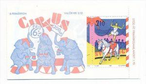 Schweden Markenheft  Zirkus  **   ( bc1665 ) siehe scan  !