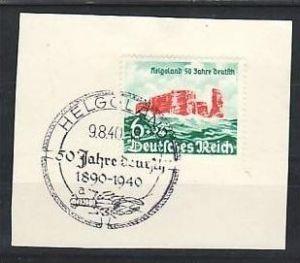 D.-Reich Nr.750    Sonder /Werbestempel    ( a6478 ) siehe scan