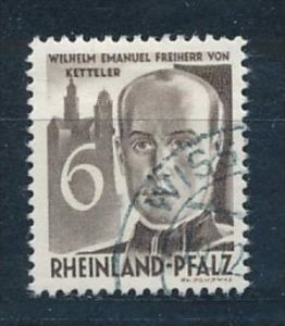 franz.Zone -  Rheinland Pf. Nr. 35 o     (f8095  ) siehe scan !