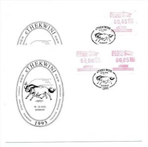 Südafrika /RSA  Lot   FDC  Automaten Marken (bc1911 ) siehe Bilder
