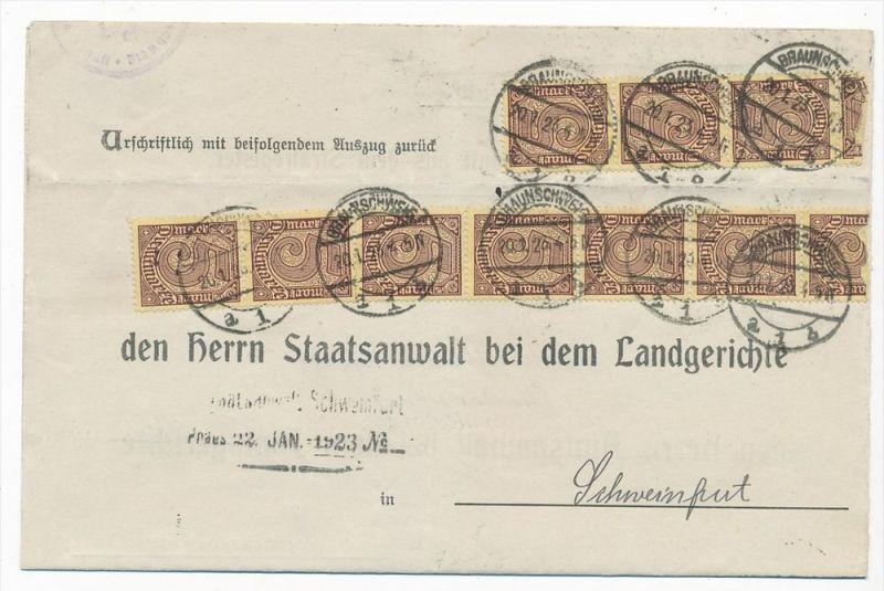 D.-Reich Dienstpost Beleg  ( zz4876 ) siehe scan  !