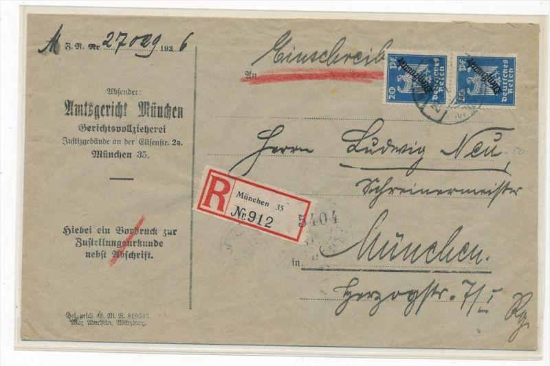 D.-Reich Dienstpost Beleg -Zustellurkunde  ( zz4878 ) siehe scan  !