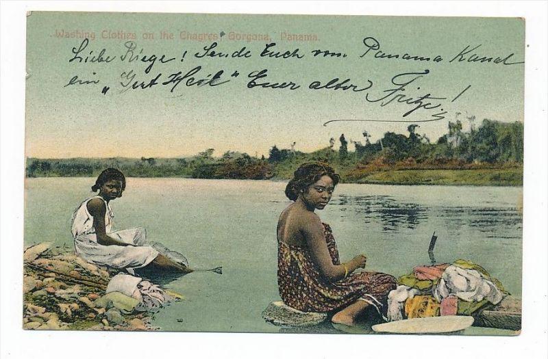 Indianer/Eingebohrene....  -alte Karte  (bc2282 ) siehe scan !