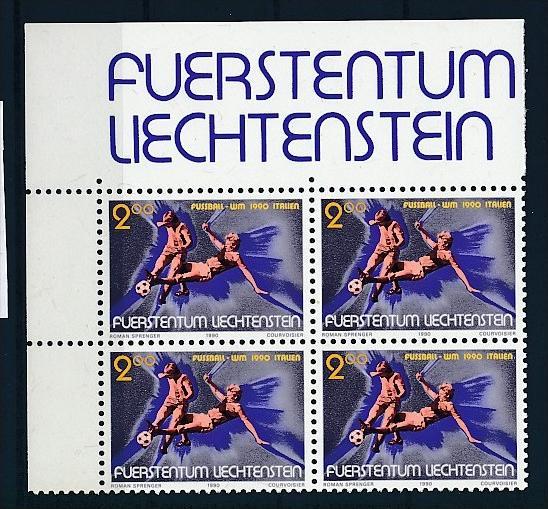 Liechtenstein  4er Eckrand Block **/MNH  987  (zz5319 ) Discount unter ABO Preis !!!