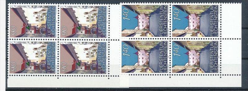 Liechtenstein  4er Eckrand Block **/MNH  919-0  (zz5332 ) Discount unter ABO Preis !!!