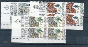 Liechtenstein  4er Eckrand Block **/MNH  913-5  (zz5333 ) Discount unter ABO Preis !!!