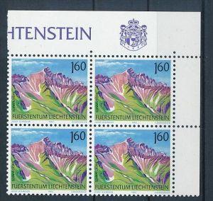 Liechtenstein  4er Eckrand Block **/MNH  1038  (zz5335 ) Discount unter ABO Preis !!!