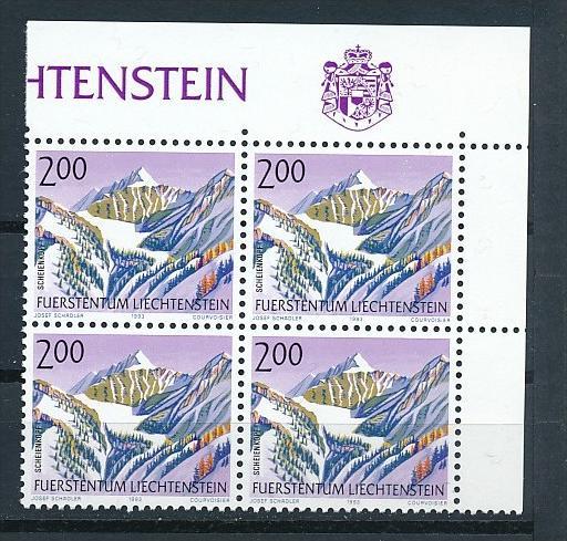 Liechtenstein  4er Eckrand Block **/MNH  1059 ( zz5350 ) DISCOUNT-unter ABO Preis !!