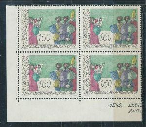 Liechtenstein  4er Eckrand Block **/MNH  1049 ( zz5360 ) DISCOUNT-unter ABO Preis !!